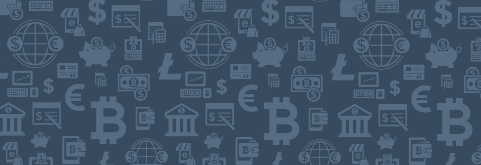 wallpaper of fintech icons