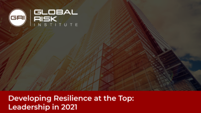 Developing Resilience at the Top Event's Banner