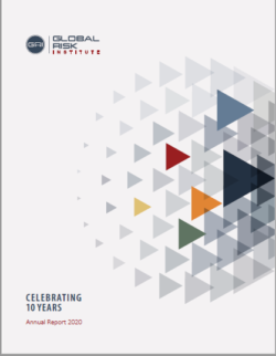 Cover of the Annual Report 2020